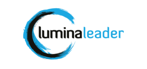 Lumina Leader logo blue